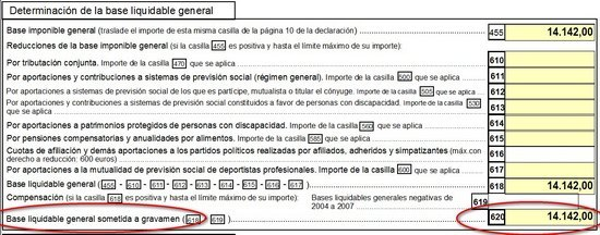 bases de la declaracion de la renta