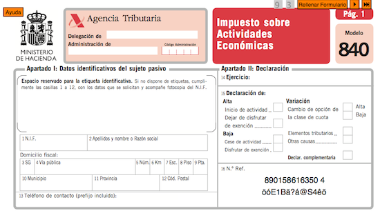 exentos de pagar el IAE